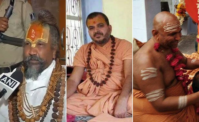 5 Minister Babas One Of Them Computer Baba Spark Political Row