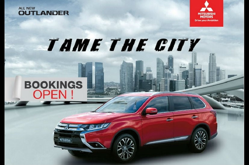 mitsubishi outlander india