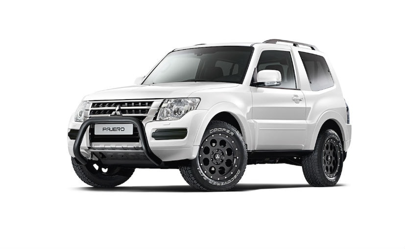 Mitsubishi Pajero Final Edition Launched In Europe - NDTV CarAndBike
