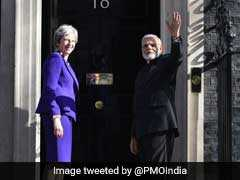 PM Modi Meets Theresa May, Prince Charles; To Meet Queen Later Today