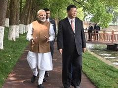 India, China Celebrate First Anniversary Of PM Modi-Xi Jinping Wuhan Summit