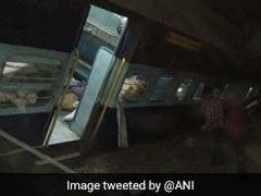 6 Injured As Passenger Train Derails In Madhya Pradesh