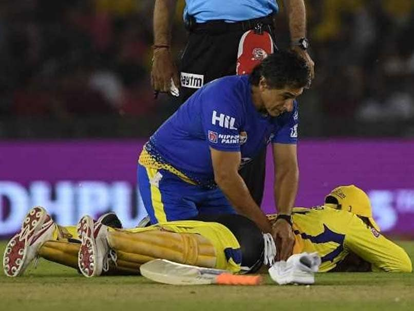 Image result for dhoni back injury