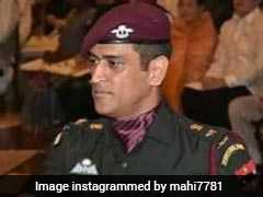 Wearing Military Uniform, MS Dhoni Received Padma Bhushan. Watch