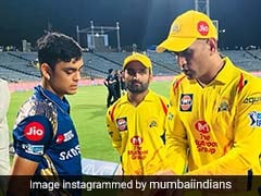 IPL 2018: Mumbai Indians' Ishan Kishan Learns Tricks Of The Trade From MS Dhoni