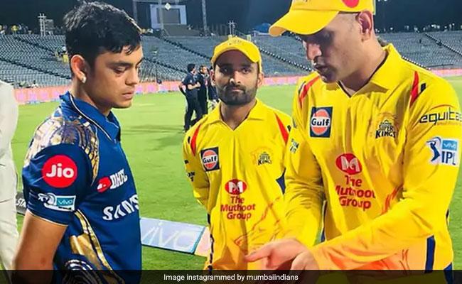 IPL 2018: मैच हारने के बाद जूनियर को टिप्स देते नजर आए MS Dhoni, देखें वायरल Video