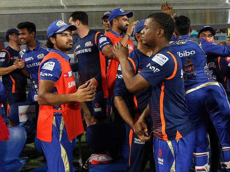 IPL 2018: Mumbai Indians Celebrate Win Over Chennai Super Kings With Cake Smash Session