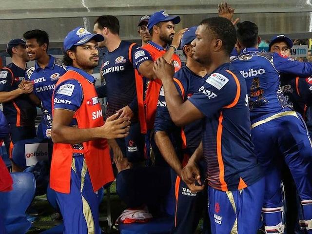 IPL 2018: Mumbai Indians Celebrate Win Over Chennai Super Kings With Cake Smash Session