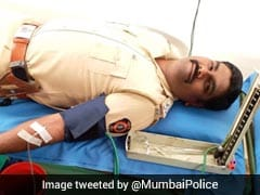 "On April Fools' Day, Mumbai Police Do ""Something Wise,"" Donate Blood"