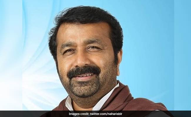 Son Accused Of Assault, Congress Lawmaker NA Haris Bags Ticket For Karnataka Polls