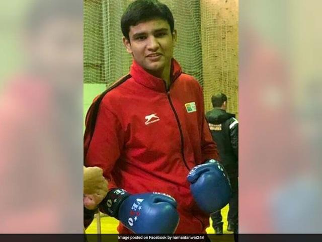Commonwealth Games 2018: India Boxer Naman Tanwar Storms Into Mens 91 Kg Quarters