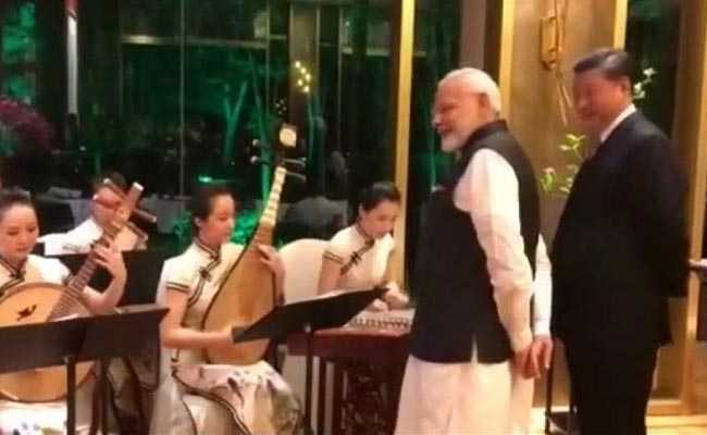 Watch: PM Modi, Xi Jinping Enjoy Bollywood Music In China