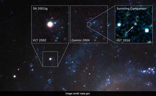 nasa supernova hubble telescope