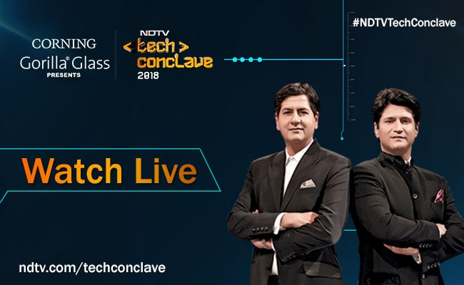 Watch Live: #NDTVTechConclave - India's Biggest Technology Event