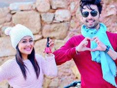 <I>Oh Humsafar</i>: Neha Kakkar, Himansh Kohli's Love Song Is Viral With 10 Million Views