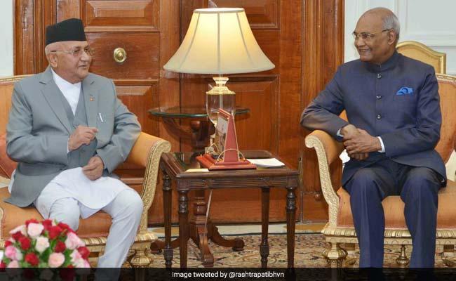 nepal pm and president kovind twitter 650
