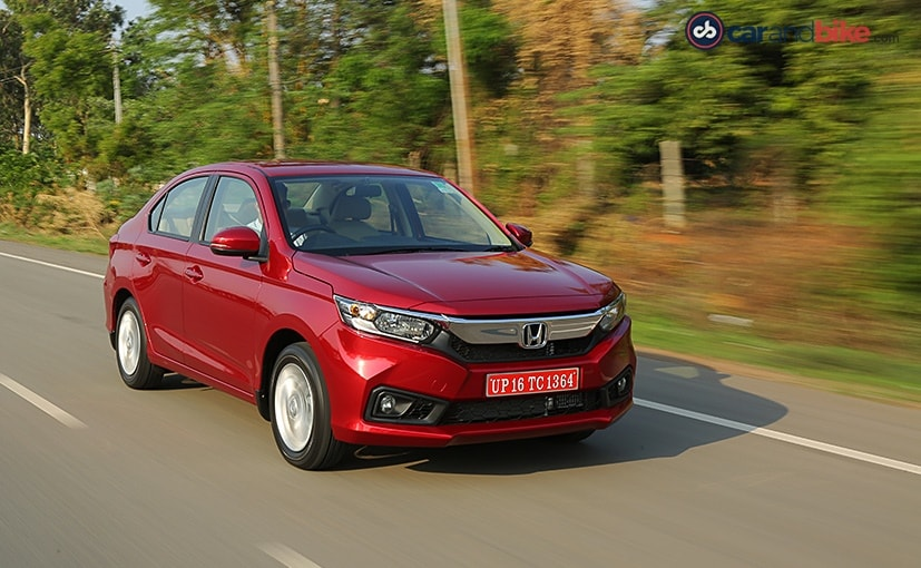 new honda amaze driving performance