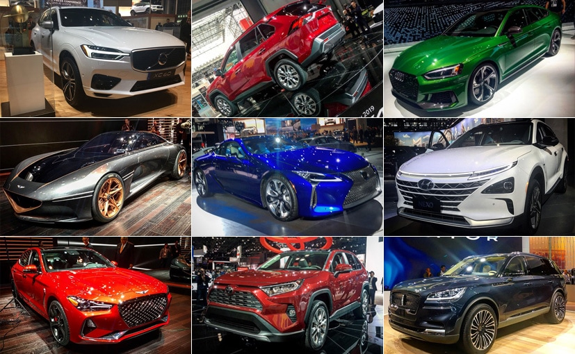 Pictures From The New York Auto Show NDTV CarAndBike - New york car show 2018
