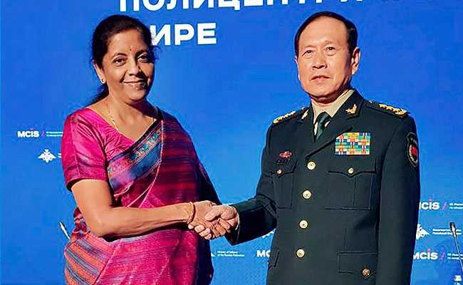 nirmala sitharaman china defence minister pti