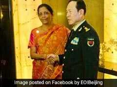 """Differences Shouldn't Lead To Disputes"": Nirmala Sitharaman In China"