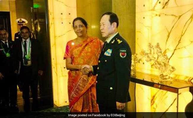 'Differences Shouldn't Lead To Disputes': Nirmala Sitharaman In China