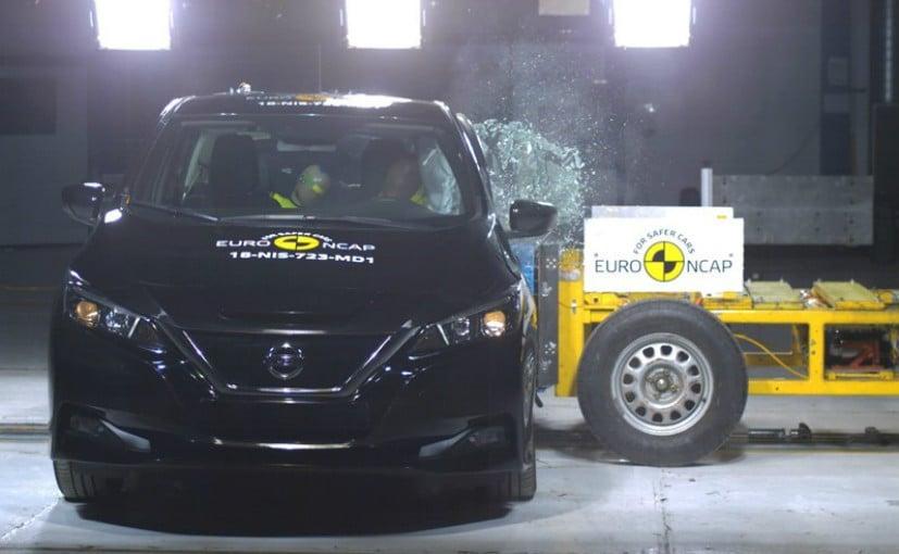 2018 Nissan Leaf Scores Five Stars In Euro NCAP Crash Tests