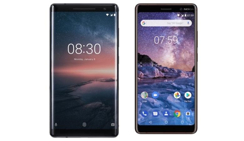 Nokia 8 Sirocco और Nokia 7 Plus की प्री-ऑर्डर बुकिंग शुरू, ये हैं लॉन्च ऑफर