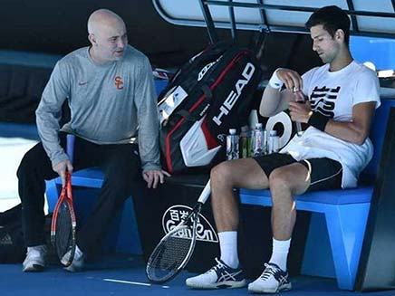 Novak Djokovic Parts Ways With Coach Andre Agassi