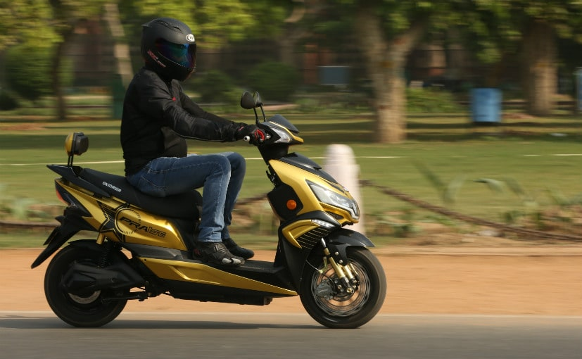 The Okinawa Praise is the flagship electric scooter from the Gurugram-headquartered company