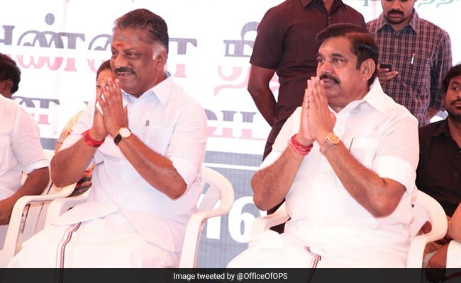Tamil Nadu Chief Minister, Deputy Join AIADMK's Statewide Hunger-strike Over Cauvery Issue