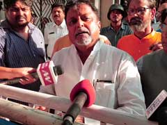 "Bengal Government Should ""Apologise"" To Governor Jagdeep Dhankhar: Mukul Roy"