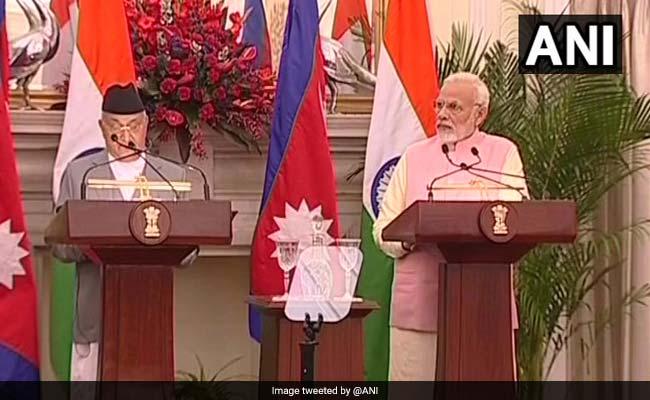 संयुक्त प्रेस कॉन्फ्रेंस : पीएम मोदी बोले, काठमांडू को भारत से जोड़ेगी नई रेलवे लाइन