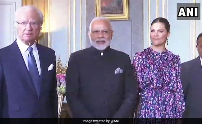 PM Modi Calls On Sweden King, Discusses Bilateral Cooperation