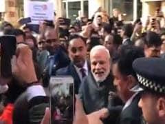 ब्रिटेन की PM से मिले PM मोदी, समर्थकों ने लगाए मोदी-मोदी के नारे