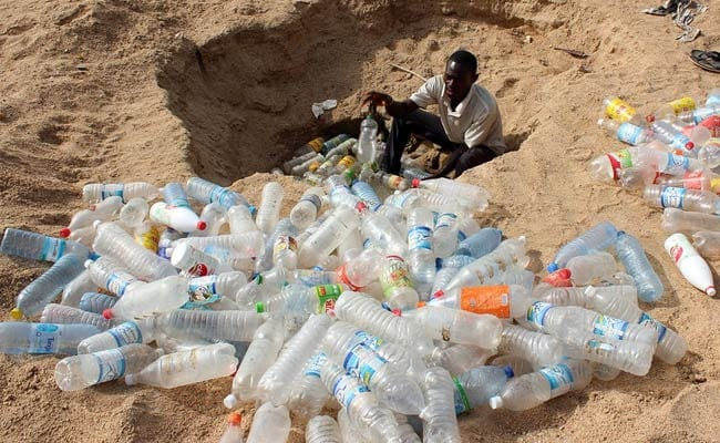 'Our world is swamped by plastic'