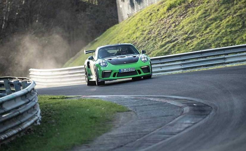 New Porsche 911 GT3 RS sets Nürburgring Nordschleife Lap Record