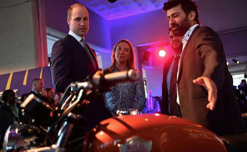 Royal Enfield Interceptor 650: The Bike That Caught Prince William's Attention