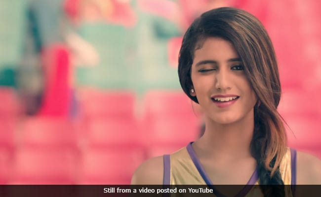 Priya Prakash Varrier Winked Again And The Internet Is Utterly Obsessed