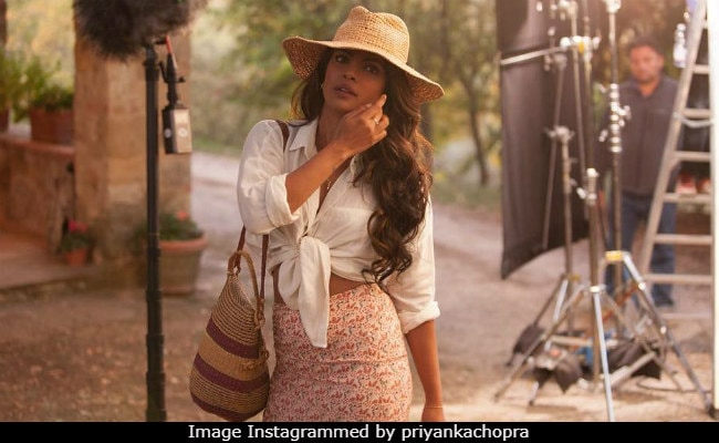 Priyanka Chopra Lets You Browse Through Her Quantico BTS Album. So Chic