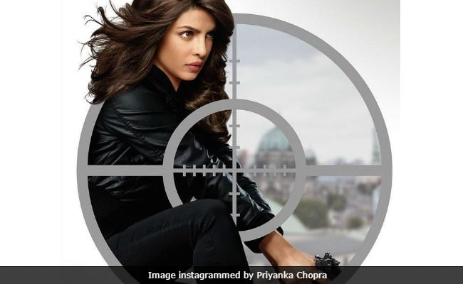 Priyanka Chopra Is Unaware Of Hidden Enemies In Quantico Poster