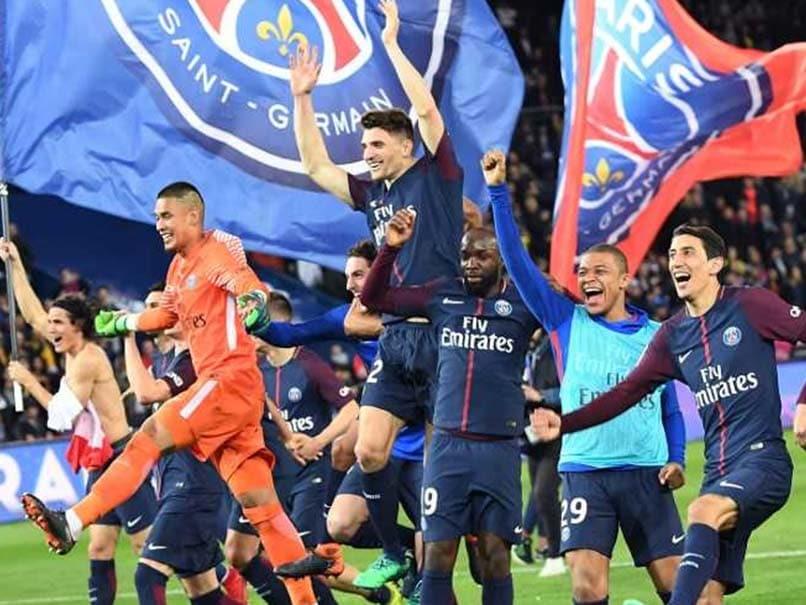 Paris Saint-Germain Secure Ligue 1 Title After 7-1 Win Over Monaco