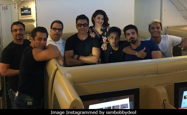 Bobby Deol Shares Race 3 Pic With Salman Khan, Jacqueline Fernandez. No, It's Not A Poster