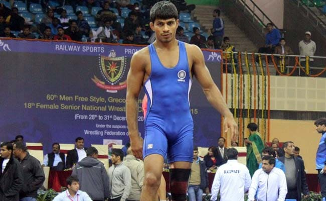 CWG 2018: कुश्ती खत्म होने से चंद सेकेंड पहले ही राहुल अवारे ने कब्जाया स्वर्ण