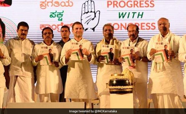 बच्चों को मुफ्त शिक्षा और ट्रांसजेंडरों को नौकरी में मिलेगा आरक्षण, कर्नाटक मेनिफ़ेस्टो में कांग्रेस ने किए ये 10 वादे