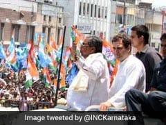 "To Rahul Gandhi's Jab Over Paper Leak, BJP Tweets Siddaramaiah ""Record"""