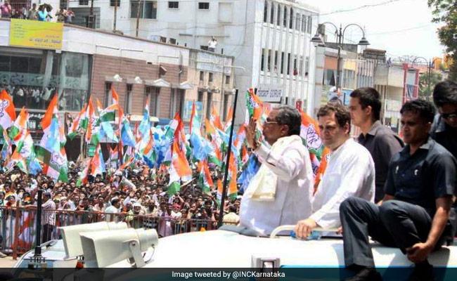 राहुल गांधी की रैली में 'वंदे मातरम्', क्या गुजरात की तरह कर्नाटक में भी है 'सॉफ्ट हिंदुत्व' की रणनीति