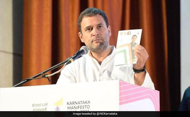 Karnataka Election LIVE Updates: Rahul Gandhi Reveals Poll Manifesto, Calls It 'Karnataka's Mann Ki Baat'