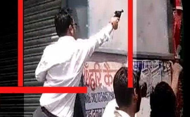 Viral Video Shows Man Firing At Dalit Protesters In Gwalior, Triggers Police Hunt