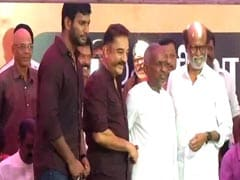 Cauvery Water Issue Highlights: Rajinikanth, Kamal Haasan Share Stage During Chennai Cauvery Protests