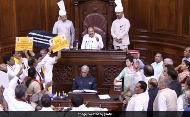 Rajya Sabha Adjourned 11 Times, Including 10 Times In 180 Minutes